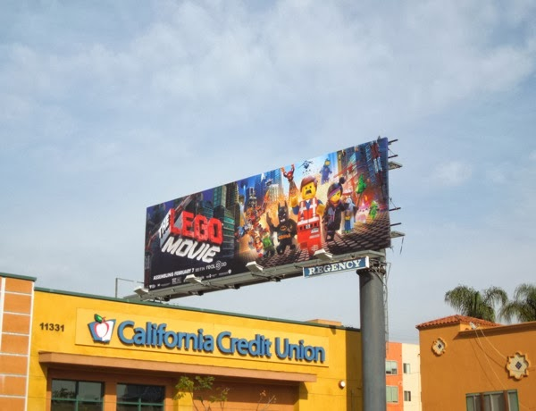 Lego Movie billboard