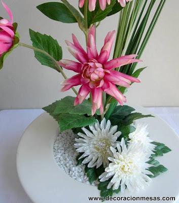 arreglo floral - flores artificiales