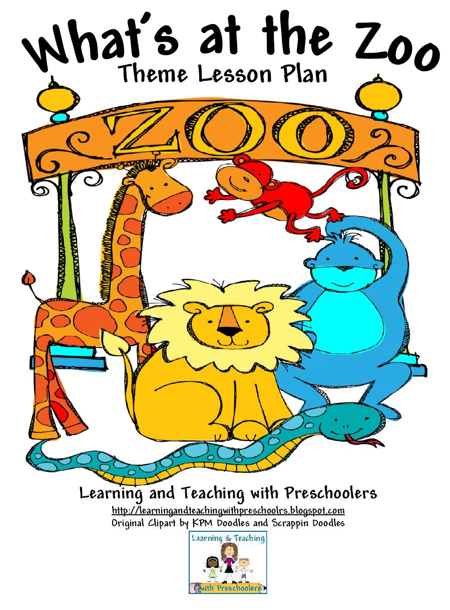 Learning and Teaching With Preschoolers: Wild Animal Unit