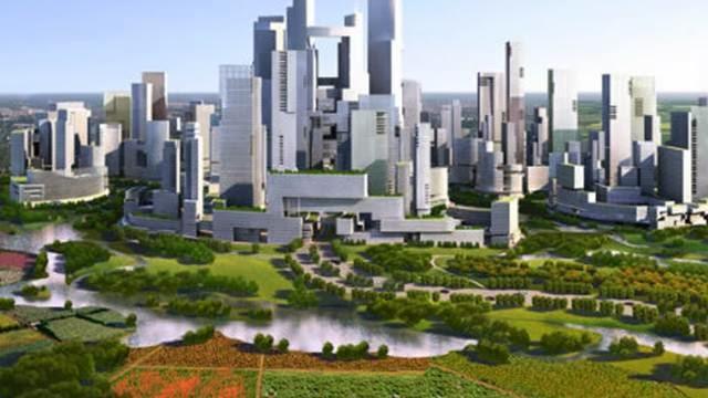 kota tanpa mobil di china