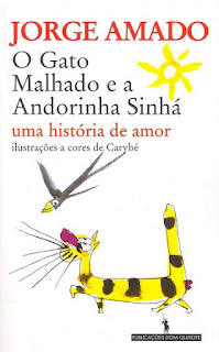 """Livro """"O Gato Malhado e a Andorinha Sinhá - Uma história de amor"""", de Jorge Amado"""