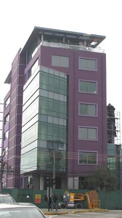 Elevación del nuevo Edificio Consistorial San Carlos