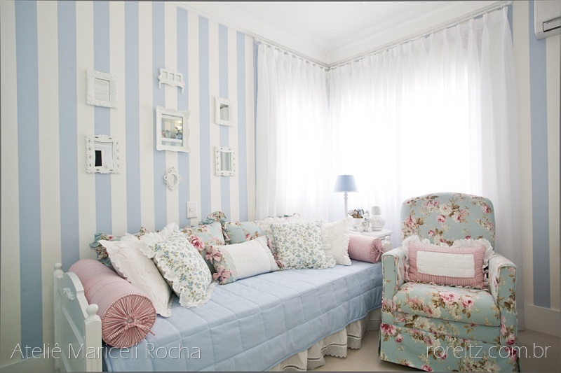Renata Maxlayne Interiores Que tal, mamãe? Rosa e azul