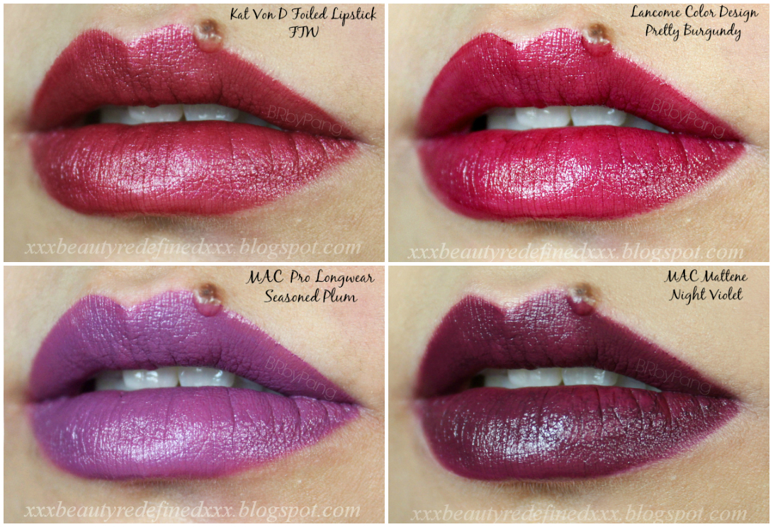 BeautyRedefined by Pang: 24 Shades of Berries, Plums, and ...
