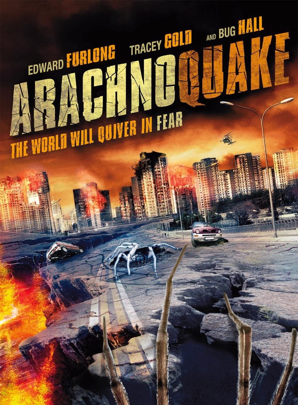 Terremoto Aracnídeo Dublado 2014