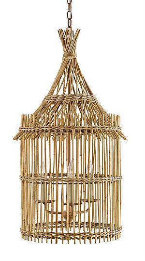bamboo dining lantern