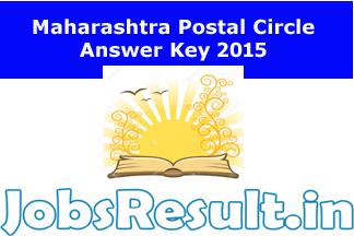 Maharashtra Postal Circle Answer Key 2015