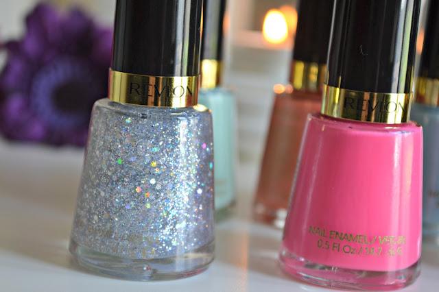 Revlon Glitter Nail Varnish Polish Stunning