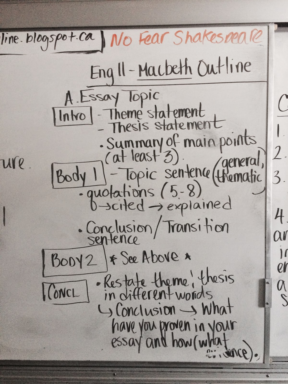 macpherson online  english 11 macbeth 1 final assignment due at the end of class a one full body paragraph 15 20 sentences 4 8 quotations i i c e