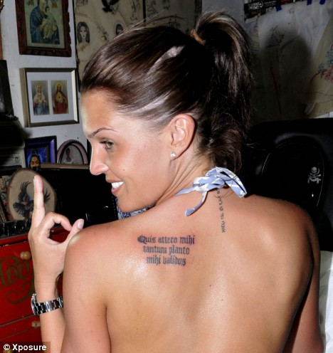 Tattoos For Girls Back Shoulder