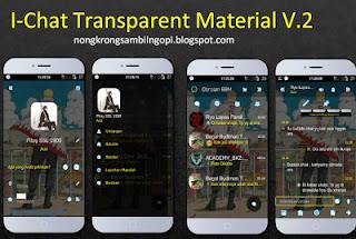 BBM Mod I-Chat Transparan Material v 2.9.0.49