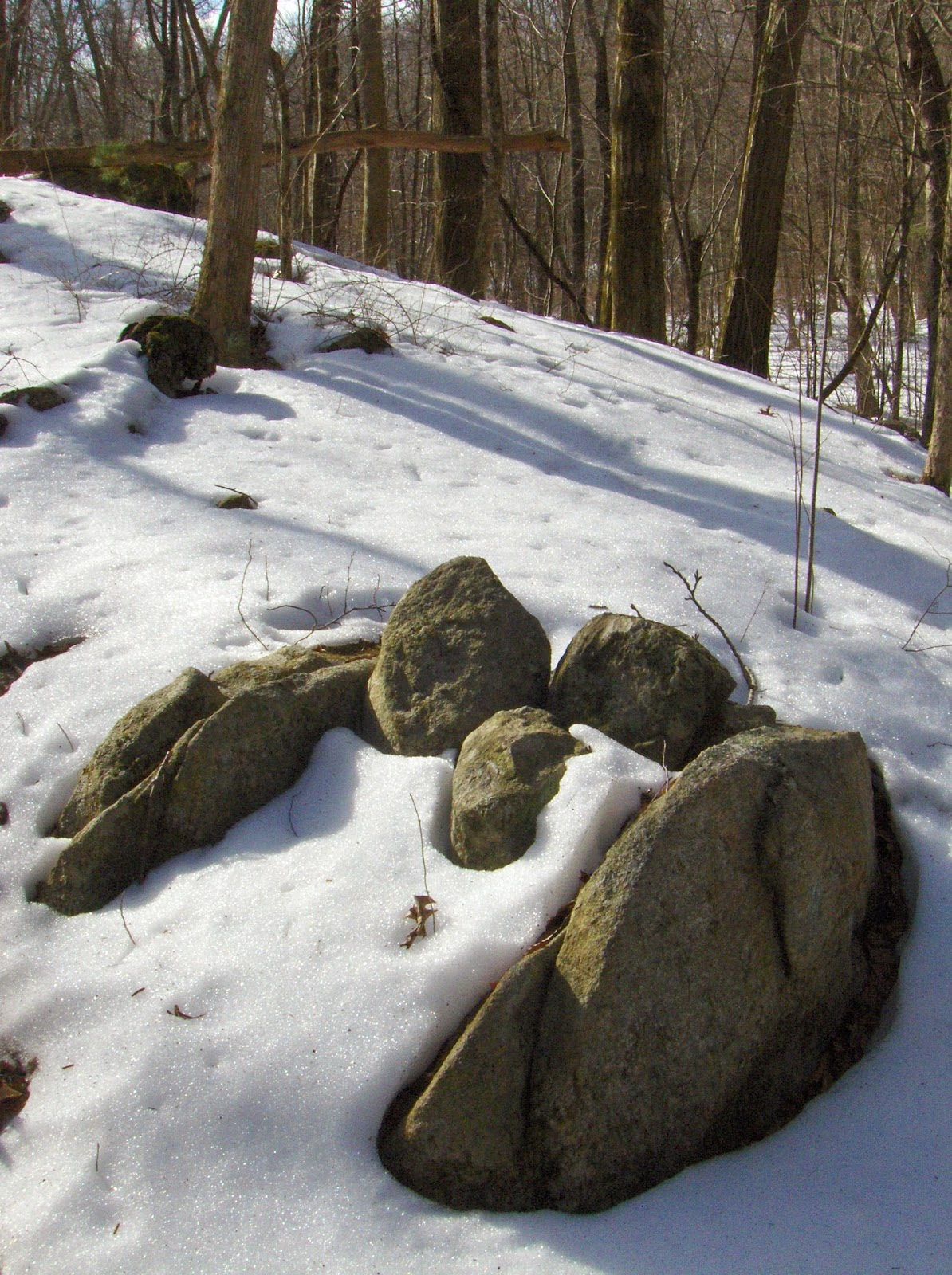 Rock Piles March 2014