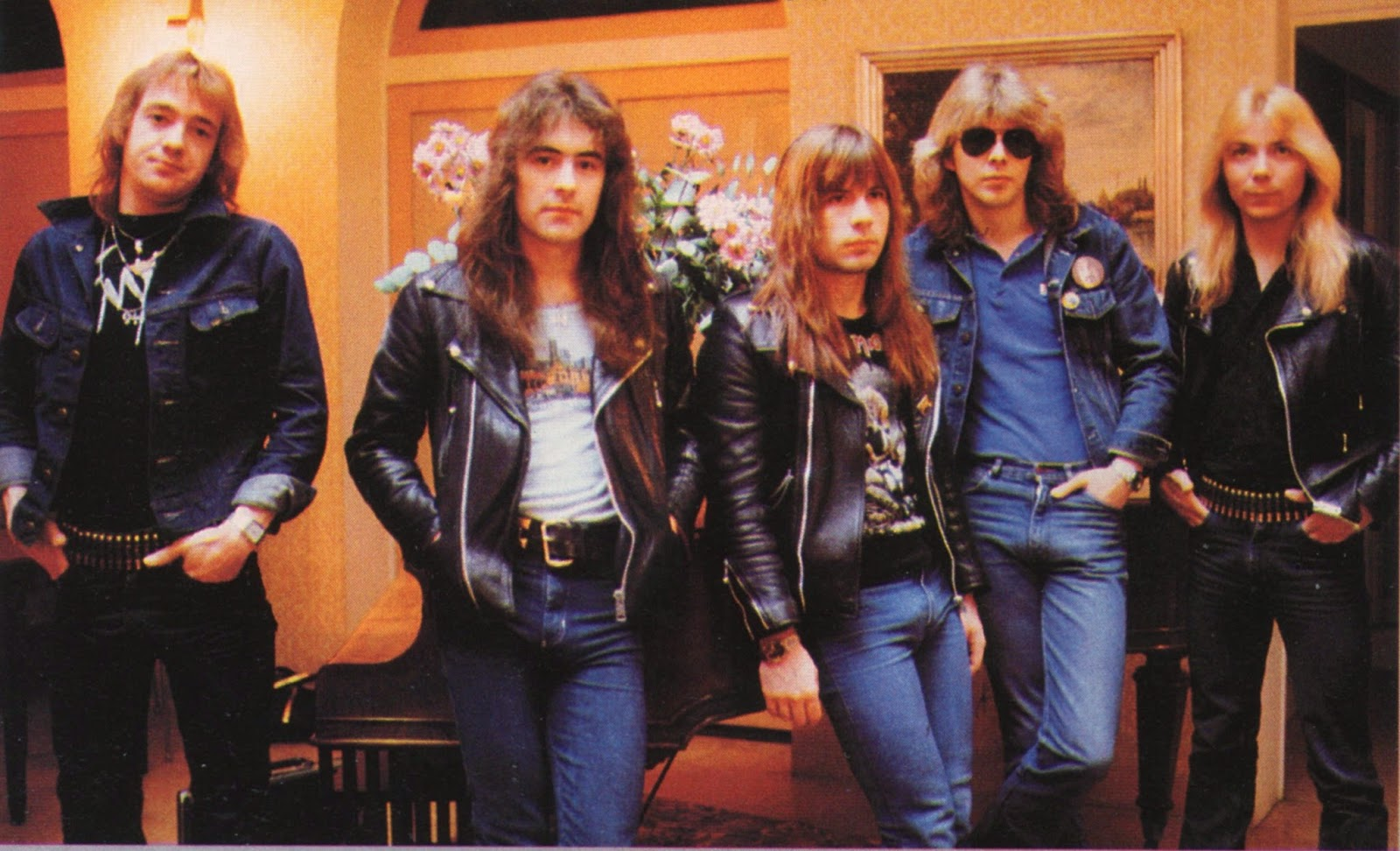 iron maiden - band - 1982