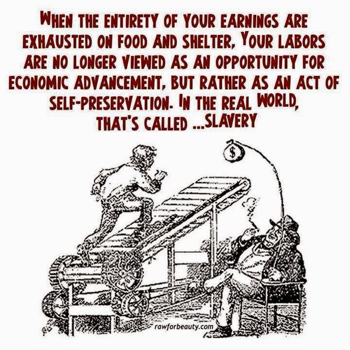 Low Wage = Slavery