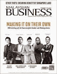MALAYSIAN BUSINESS NOVEMBER 16th ISSUE OF 2014 NOW ON SALE