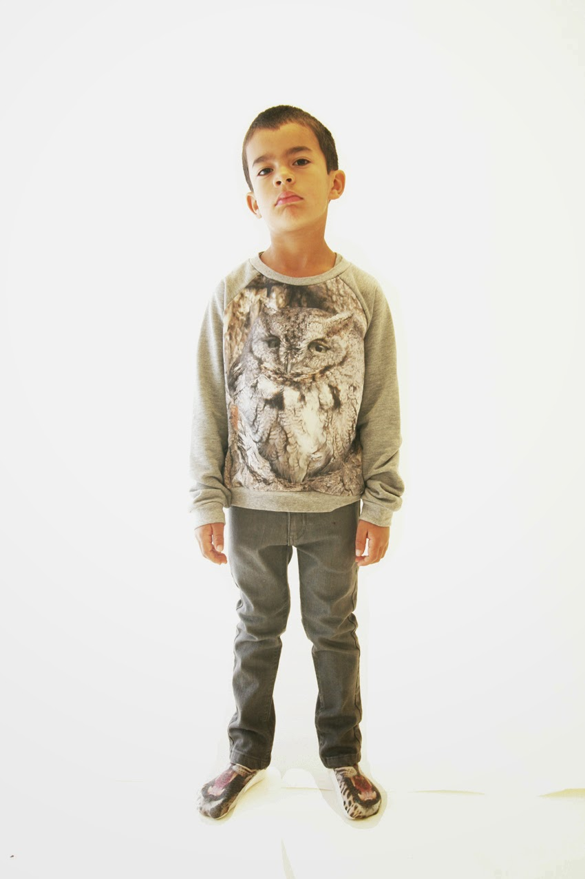 Popupshop for autumn/winter 2014 kids clothing collection