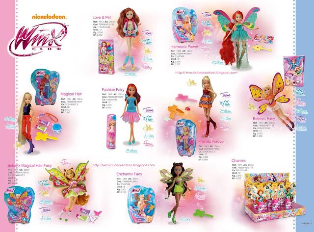Winx produtos winx no brasil bonecas winx cotiplás novas coleções