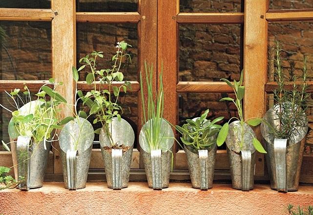 jardins ideias criativas:blog de decoração – Arquitrecos: 7 idéias de hortas dentro de casa