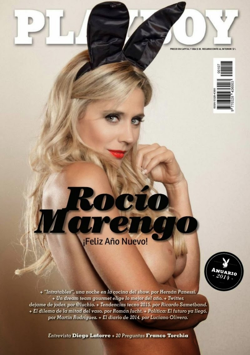 Latin Actress Rocio Marengo in Playboy Argentina