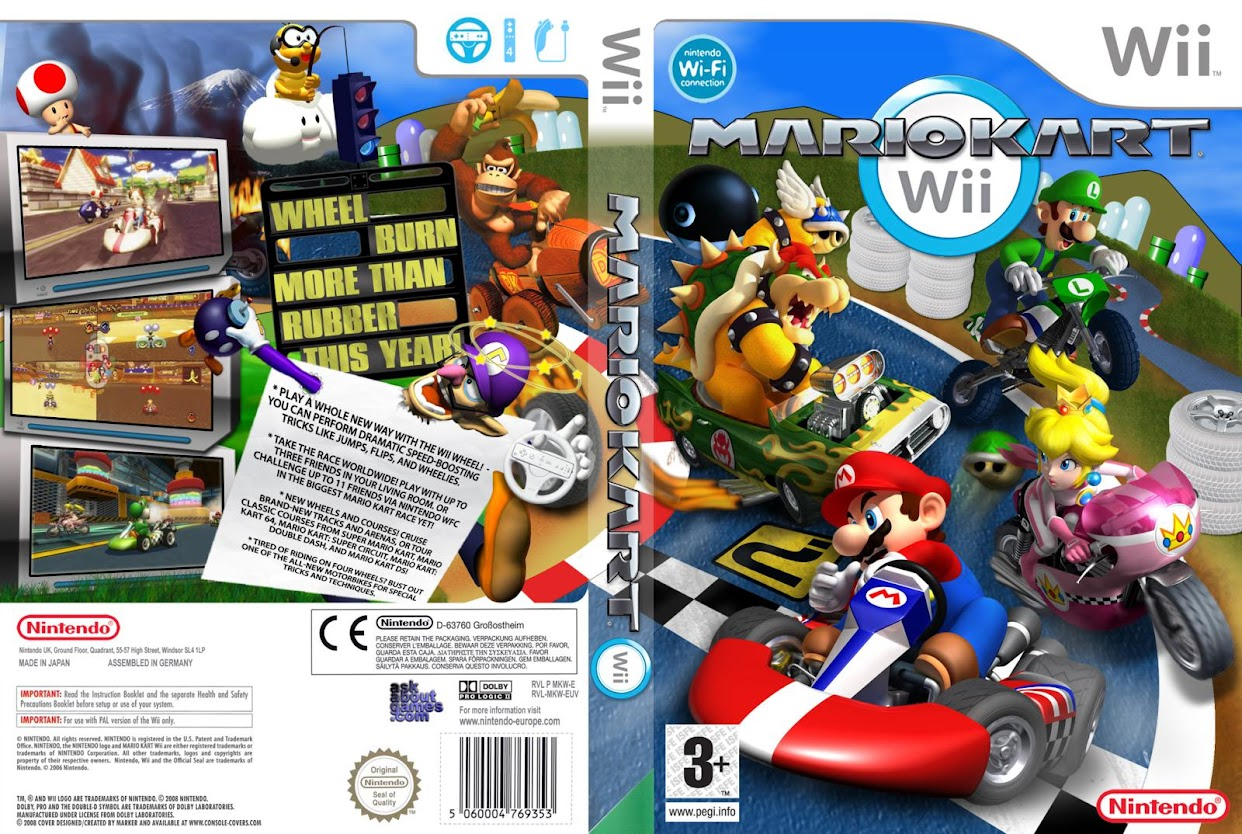 download rom super mario kart wii