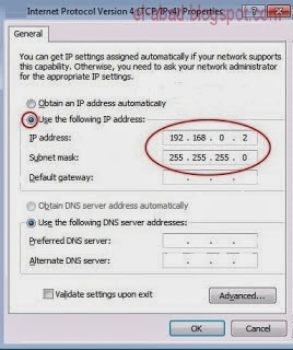how to search ip address of laptop