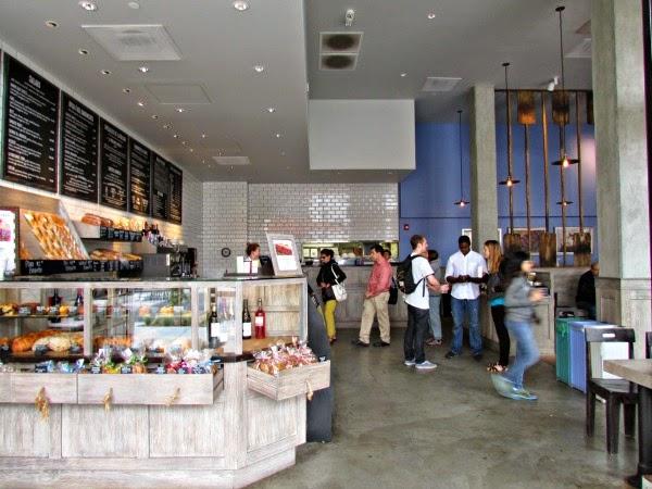 La Boulange de Sunset- Bakery Counter & Line