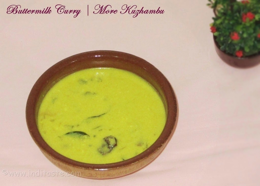 How to make More Kulambu - Buttermilk Curry