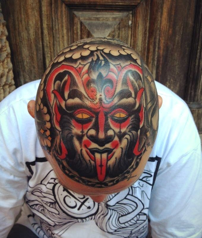 Татуировки на голове 20 фото tattoos on the