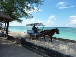 transportasi di gili trawangan lombok