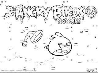 Angry Birds Coloring Pages Crishmast