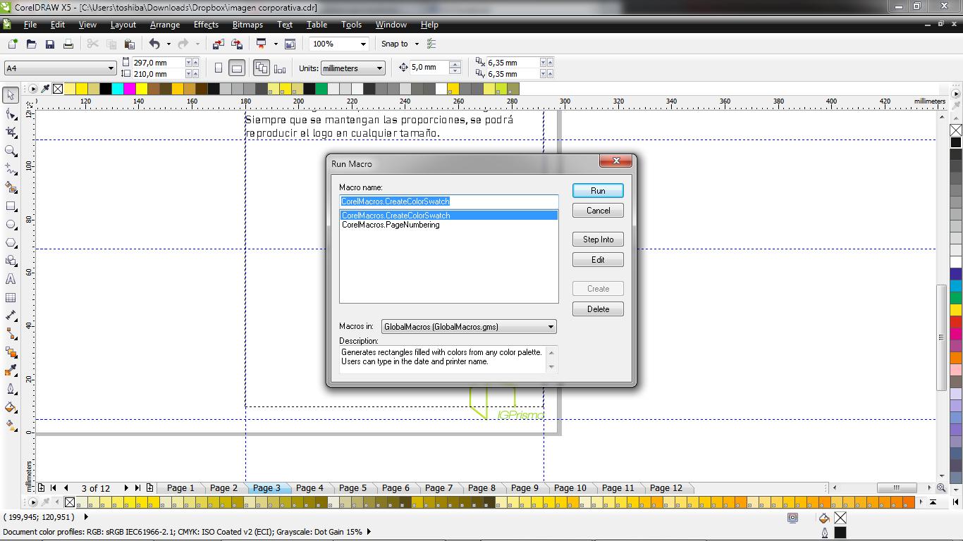 Diseño Gráfico | Mr. PumpkinPie: Macros (I): Numerar páginas en ...