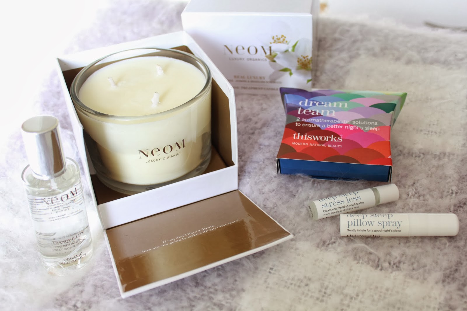 Neom Lavender candle