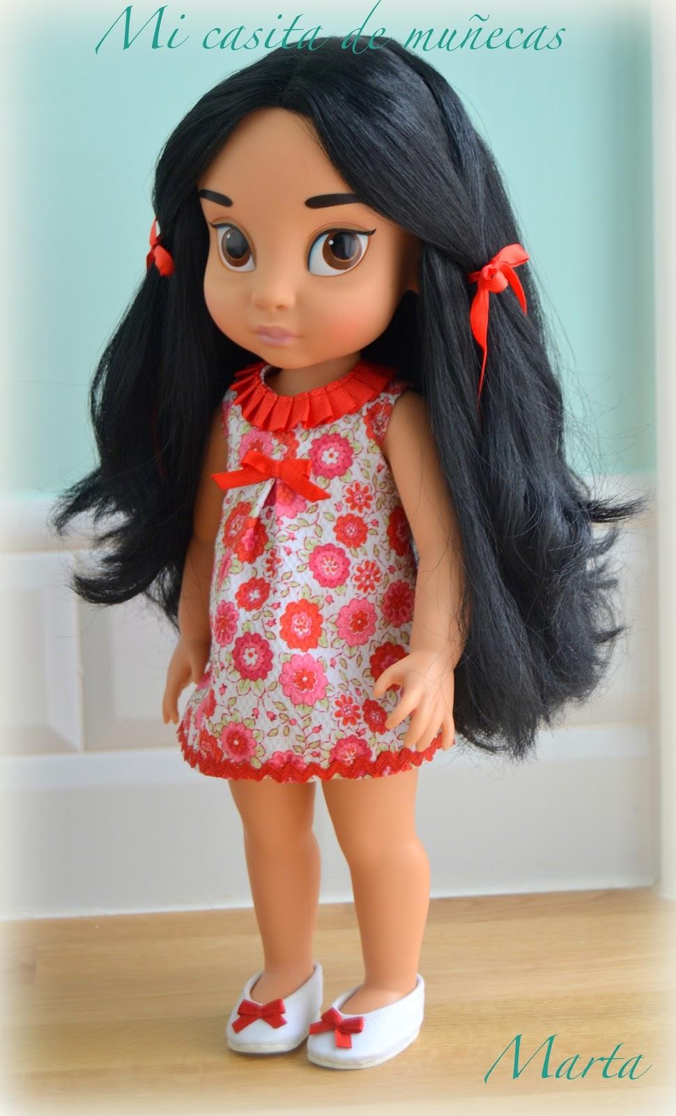 Jasmine Animators Disney Store, Jazmin, Yasmin, Yazmin. Vestido y zapatos.