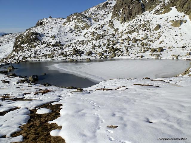 Laguna Grande de Peñalara Helada