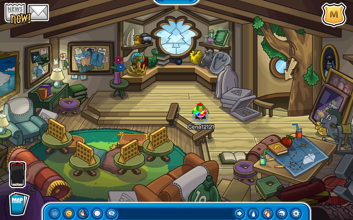Club Penguin Ski Lodge