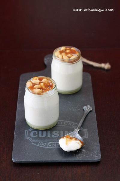 mousse yogurt caramello salato arachidi