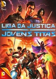 Liga da Justiça vs Novos Titãs BDRip Dual Áudio + Torrent 1080p e 720p