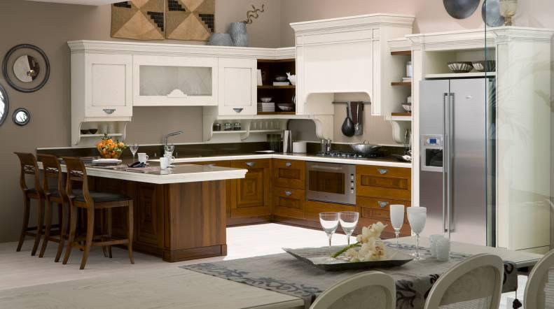 Cocinas clásicas que también pueden ser vistosas - Cocinas con estilo