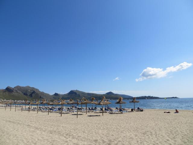 Port de Pollença beach Mallorca