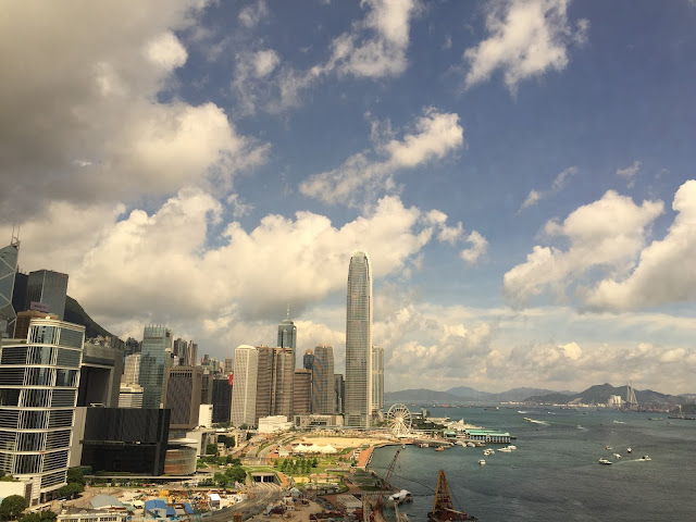 Hong Kong harbour view Grand Hyatt hotel