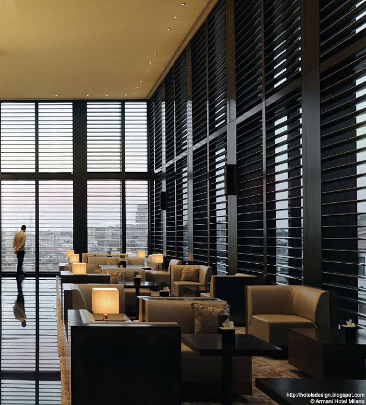 Les plus beaux hotels design du monde armani hotel milano for Hotel armani milano