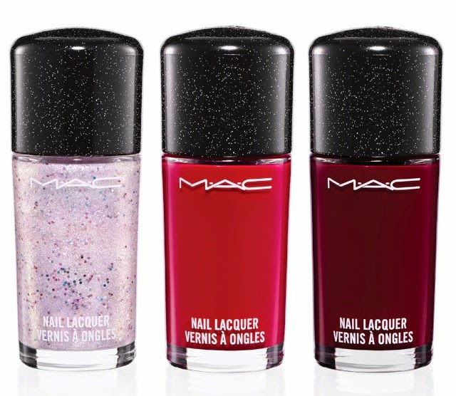 MAC Heirloom Mix Collection for Holiday 2014, Nail Lacquer, Just Jewels, Richly Endowed, Queen's Honour