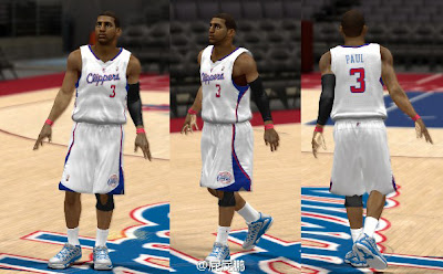 NBA 2K13 Home Jersey Mod Preview - Chris Paul PC XBOX 360 PS3