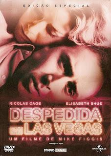 Capa do filme Despedida em Las Vegas, com Nicolas Cage