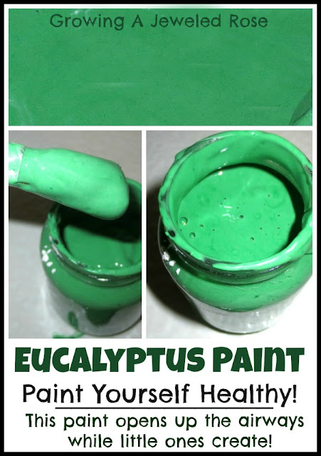 Soothing homemade paint recipe