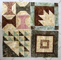 Aurifil designer blocks for 2014