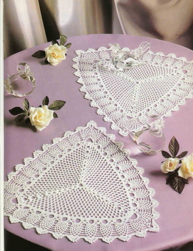 le crochet des8jika: Décoration de table au crochet