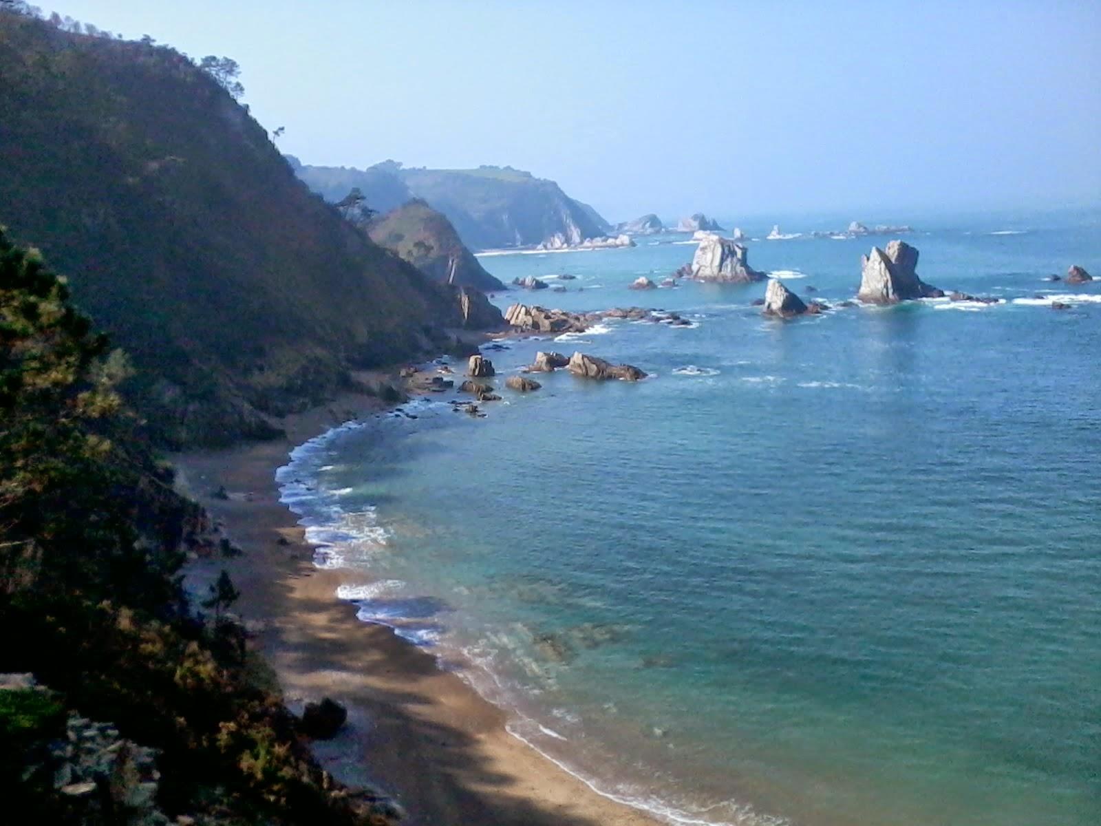 playa silencio asturias beach