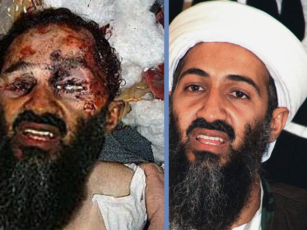 While the media presents the death of Osama bin Laden as a victory ...