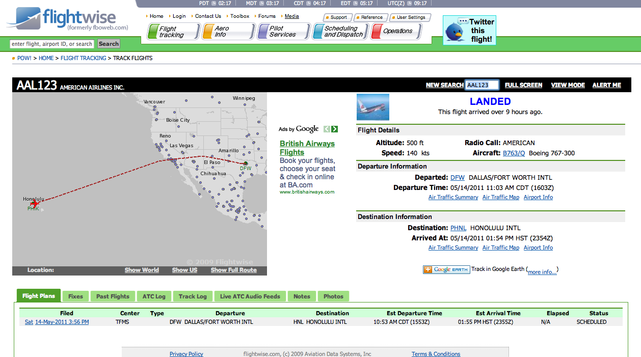 You can even have flightwise place a voice phone call to alert users and vip s to aircraft movements